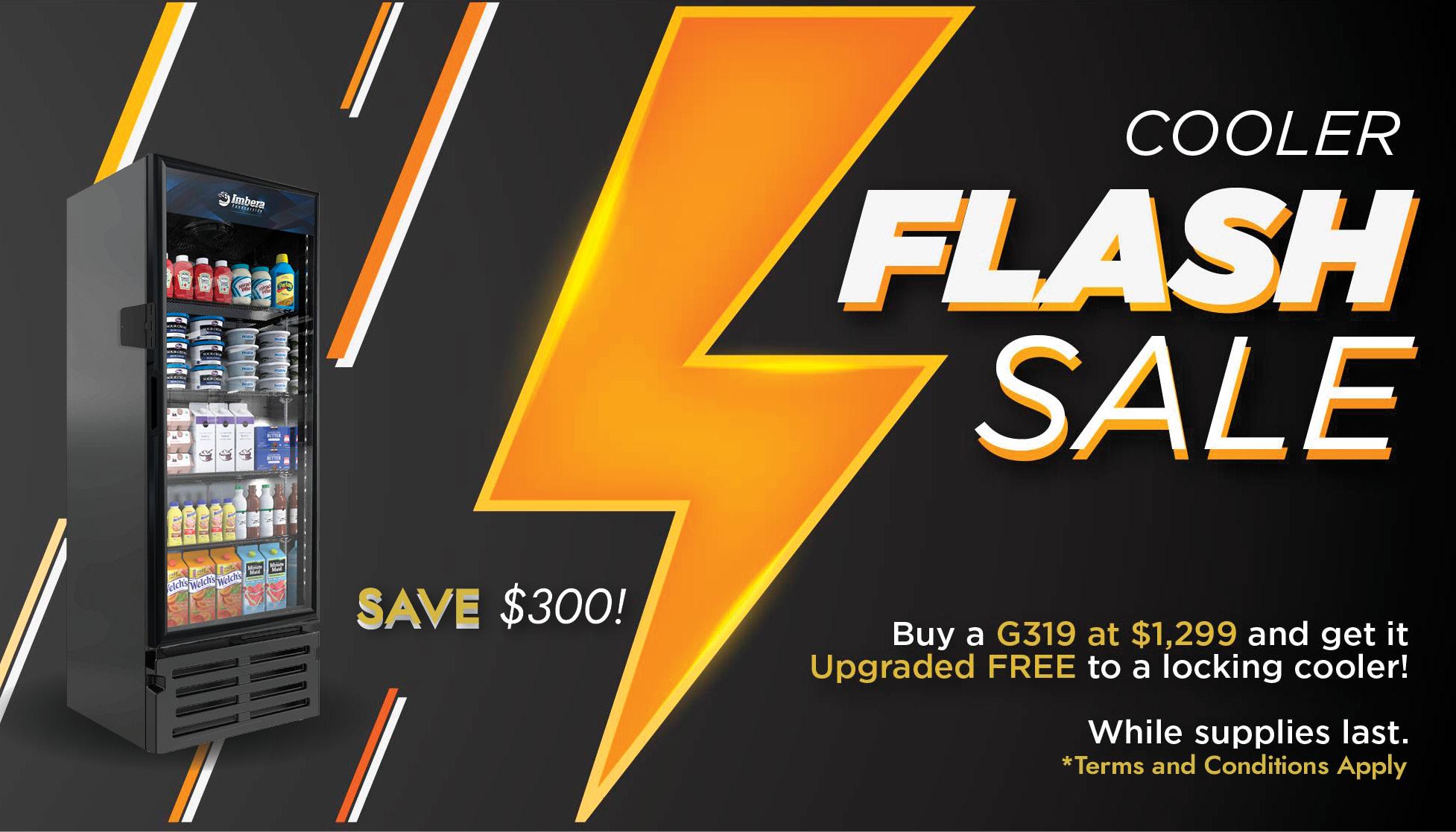Cooler Flash Sale Special